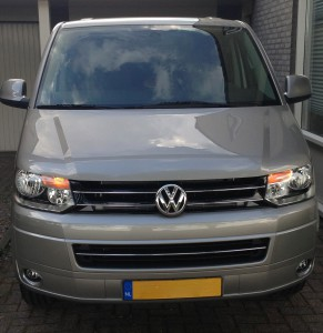 VW Multivan voor MVL Productions